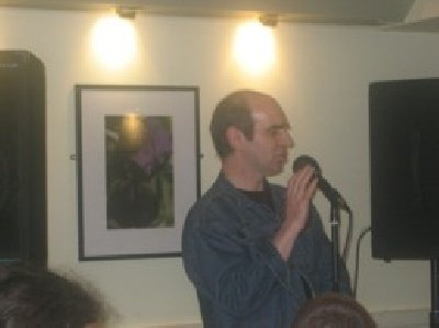 Liverpool Poet David Bateman Performs At The Dead Good Poets Society At The Everyman Liverpool