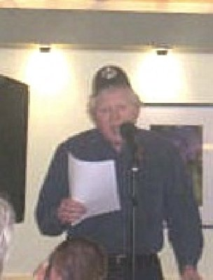 Bolton Poet Paul Blackburn Performs At The Dead Good Poets Society At The Everyman