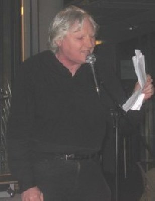 Poet Paul Blackburn reads at the launch of the Censorship issue of Citizen 32