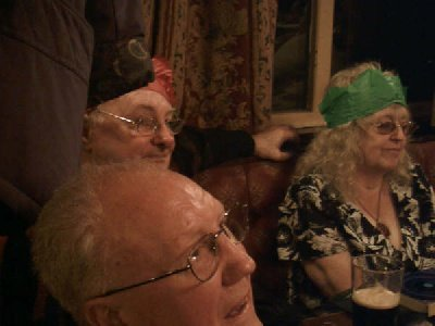 Members of the audience at the Christmas Party at the Howcroft Inn Bolton