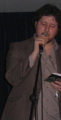 "John Togher reads his controversial new poem ""Landing in the PC"" at the Tudor House, Wigan September 2007 - see discussions"