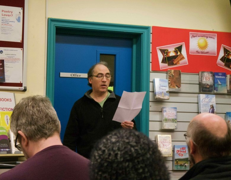 Tim Taylor, Marsden Write Out Loud 18th January 2017