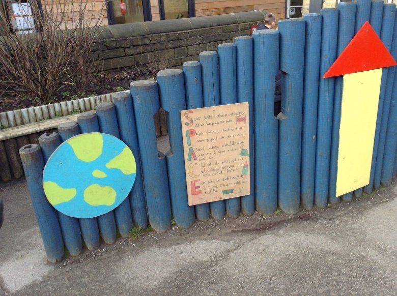 Infant school poem in Marsden, Poetry Village