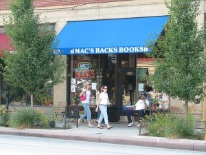 Venue - Mac's Backs Books on Coventry